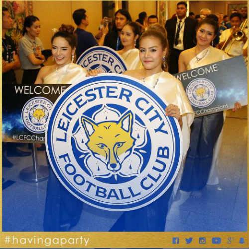 Tân vương Leicester được đón như người hùng ở Thái Lan - 2