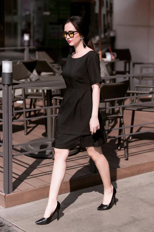 Nữ ca sĩ trẻ gợi ý mặc đồ đen, trắng cho nàng công sở - 6