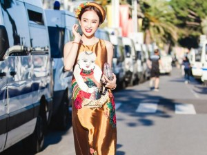 Angela Phương Trinh gây chú ý trên thảm đỏ Cannes