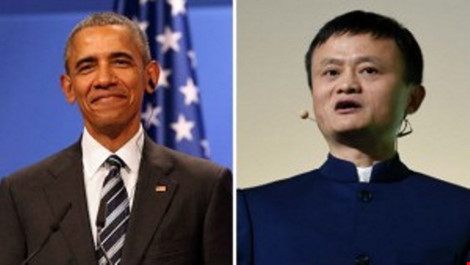 Tổng thống Obama bí mật gặp tỉ phú Trung Quốc Jack Ma - 1