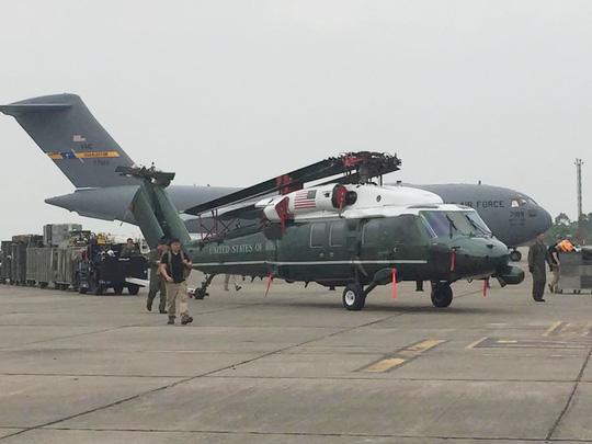 Máy bay của Obama đến Nội Bài - 5