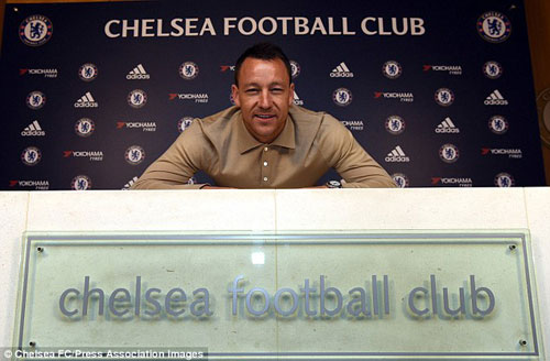 """Terry chấp nhận mức lương """"sốc"""" để  ở lại Chelsea - 1"""
