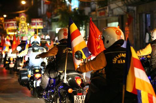 """Dàn mô tô """"khủng"""" diễu hành cổ động ngày bầu cử - 5"""