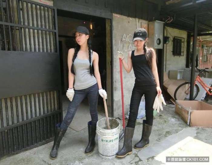 """""""Hot girl phụ hồ"""" khiến dân mạng Trung Quốc điên đảo - 5"""