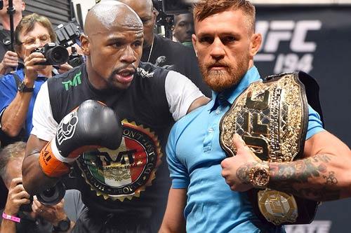 """""""Gã điên UFC"""" mời thầy Pacquiao chờ đấu Mayweather - 1"""