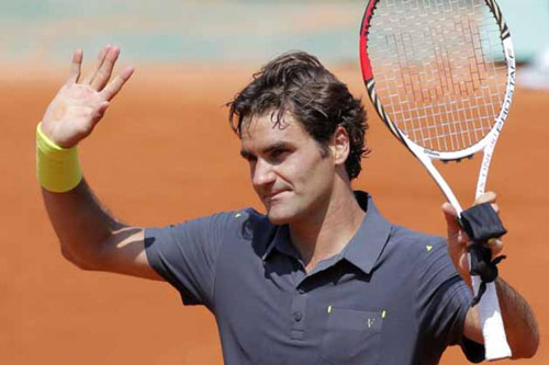 Tin thể thao HOT 19/5: Federer thử mặt sân Roland Garros - 1