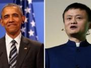 Tài chính - Bất động sản - Tổng thống Obama bí mật gặp tỉ phú Trung Quốc Jack Ma