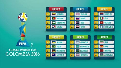Bốc thăm Futsal World Cup: Việt Nam đụng độ Italia - 1