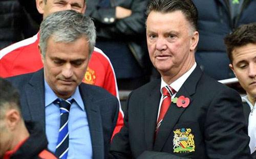 MU tính mời Mourinho nhưng vẫn giữ lại Van Gaal - 1