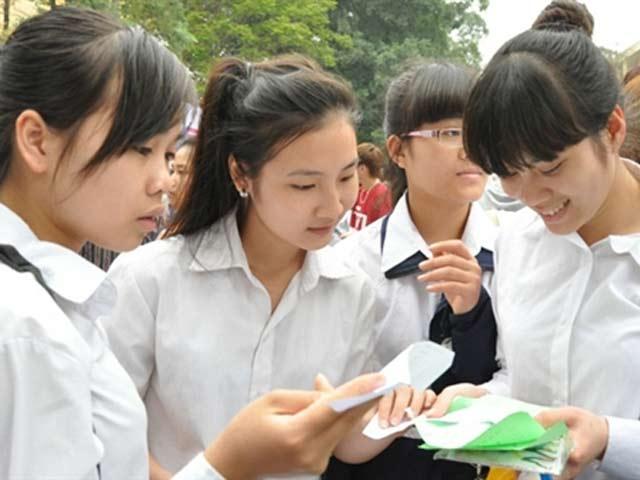 Cho các trường ĐH liên kết thành nhóm xét tuyển chung - 1