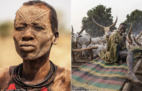 Cuộc sống của bộ tộc dùng nước tiểu của bò để tắm - 4