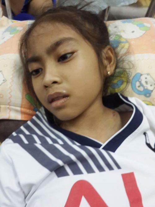 Mơ ước nhỏ nhoi của bé gái 14 tuổi bị ung thư hạch - 3