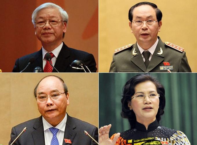 Bốn lãnh đạo cao cấp nhất bầu cử ở đâu? - 1