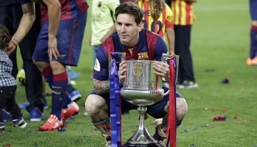 """CK cúp nhà Vua: Messi là """"bùa hộ mệnh"""" của Barca - 1"""