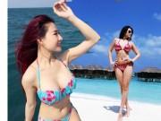Hot girl Việt khoe dáng mỹ miều với bikini
