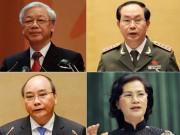 Tin tức trong ngày - Bốn lãnh đạo cao cấp nhất bầu cử ở đâu?