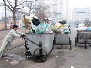 Hà Nội sẽ quy ước giờ đổ rác