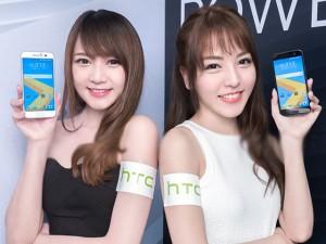 Cặp chân dài xinh đẹp bên smartphone HTC 10