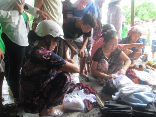 TT- Huế: Chợ Điền Hải cháy rụi, tiểu thương trắng tay - 3