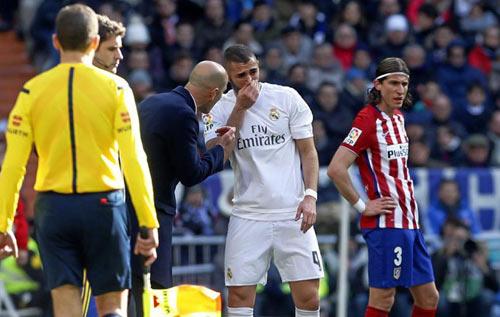 Real: Zidane đã định hình chiến thuật đấu Atletico - 1
