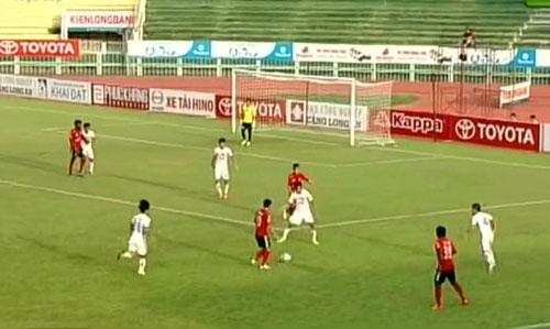 Video Dong Tam Long An vs SHB Da Nang - 1