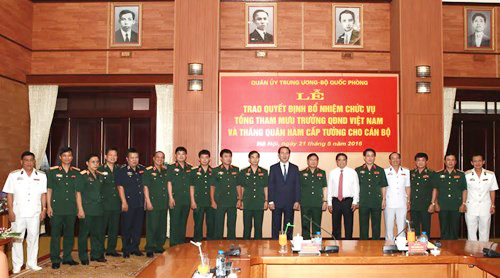Chủ tịch nước bổ nhiệm tân Tổng Tham mưu trưởng Quân đội - 2