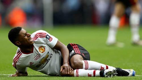 Rashford chấn thương đầu gối, chưa chắc dự EURO - 1
