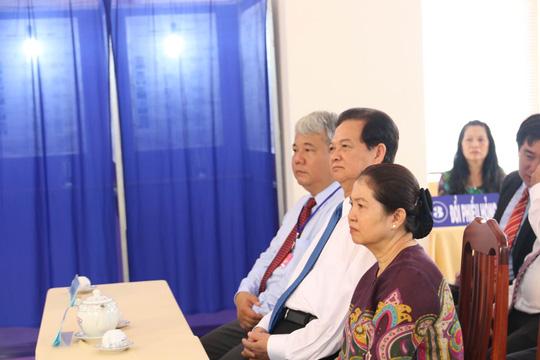 TP HCM: Bí thư Đinh La Thăng đi bầu cử từ sáng sớm - 8