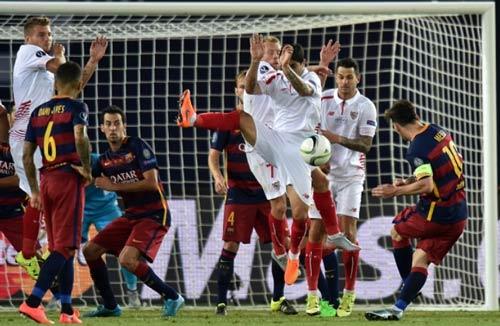 Barca – Sevilla: Vì một cú đúp - 1
