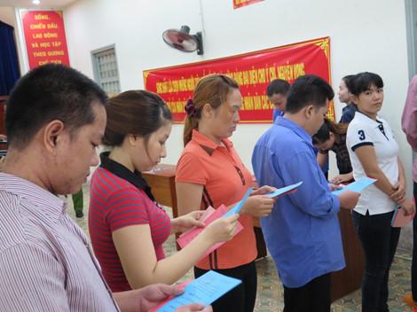 2.000 can phạm trại Chí Hòa xúc động đi bầu cử - 5