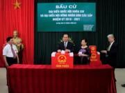 Tin tức trong ngày - Chủ tịch nước Trần Đại Quang bỏ phiếu bầu cử