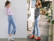 Cách đơn giản chinh phục quần jeans tua rua