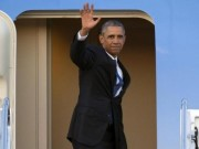 Tin tức trong ngày - 0h10 đêm nay, chuyên cơ của Obama hạ cánh xuống Nội Bài