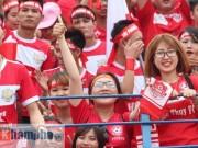 Bóng đá - Fan Hải Phòng tạo không khí cuồng nhiệt ở Thanh Hóa