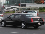 Tin tức trong ngày - CẬP NHẬT: Đoàn xe đón ông Obama tiến vào sân bay Nội Bài