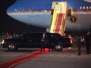 Tin tức trong ngày - Chùm ảnh: Đón TT Obama, an ninh siết chặt từ sân bay về khách sạn