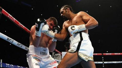 """Boxing: 275 giây, David Haye """"diệt"""" đối thủ - 1"""