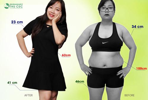 Tuyệt chiêu giảm 30kg không cần ăn kiêng của cô nàng 9X - 10