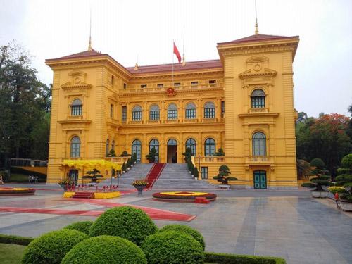 Obama tại phủ chủ tịch nước Việt Nam - 1