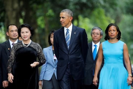 Tổng thống Mỹ Barack Obama và Chủ tịch Quốc hội Nguyễn Thị Kim Ngân - 3