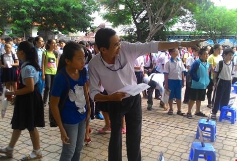 Bắt đầu phát hành đơn dự tuyển vào lớp 6 Trường Trần Đại Nghĩa - 1