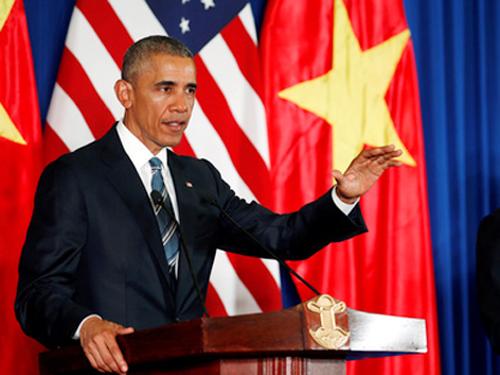 Tổng thống Obama : Có thể đưa vợ con tới Việt Nam nghỉ ngơi - 1