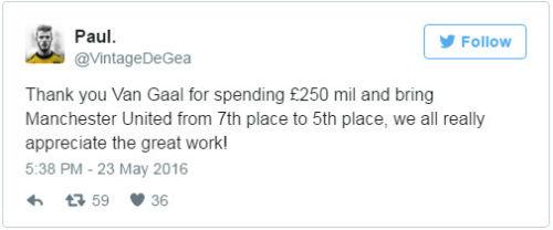 Van Gaal bị sa thải, fan MU mừng như mở hội - 6