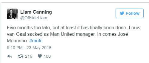 Van Gaal bị sa thải, fan MU mừng như mở hội - 3