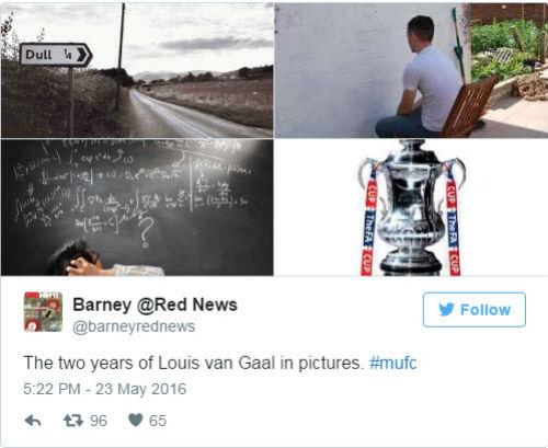 Van Gaal bị sa thải, fan MU mừng như mở hội - 1