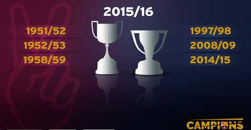 Lỡ cúp C1, lập cú đúp quốc nội: Barca vẫn vĩ đại - 3