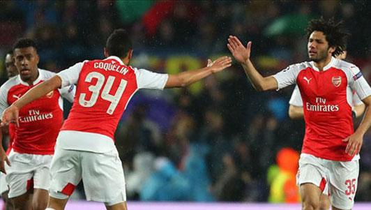 Tin HOT tối 23/5: Siêu phẩm hạ Barca đẹp nhất mùa Arsenal