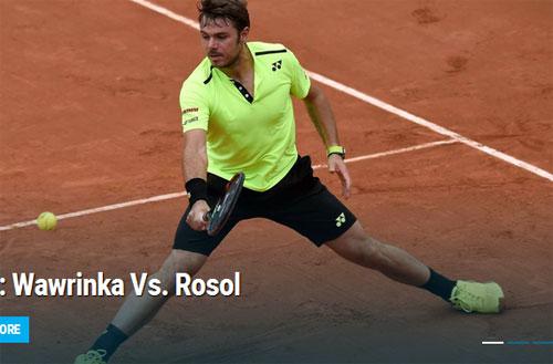Wawrinka – Rosol: Ngai vàng lung lay (vòng 1 Roland Garros) - 1