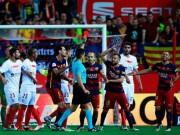 Bóng đá - Barca - Sevilla: 3 thẻ đỏ, 2 bàn thắng, 1 ngôi sao