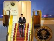 Video An ninh - Tổng thống Obama đã đến Việt Nam